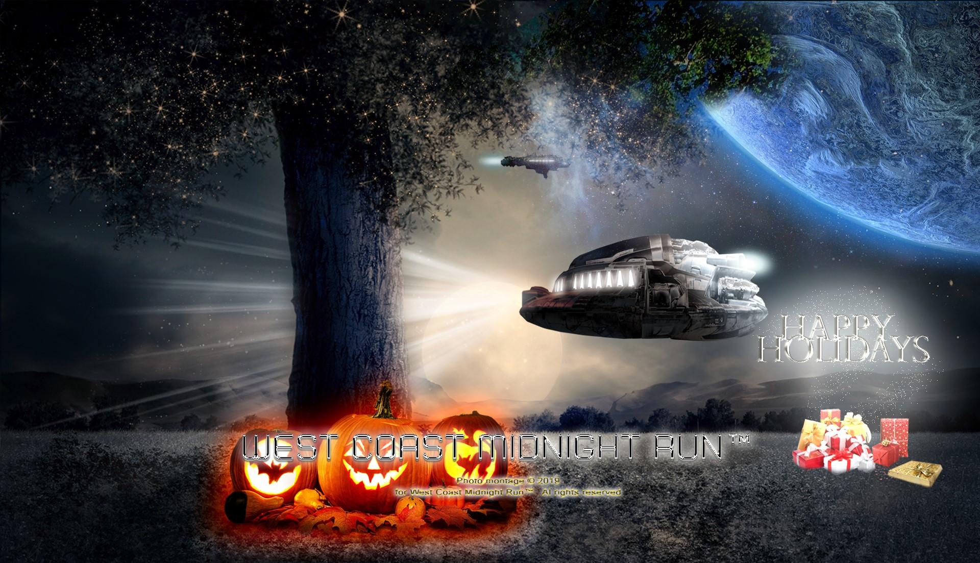 Holidays UFO Landing